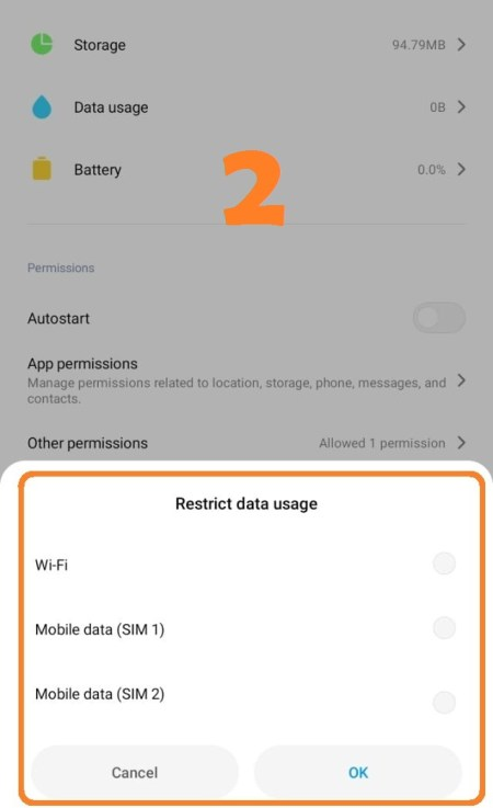 Restrict Data Usage on Android Games