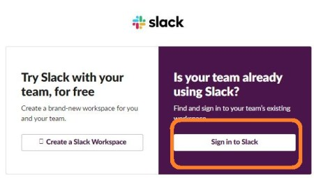 Sign In To Slack