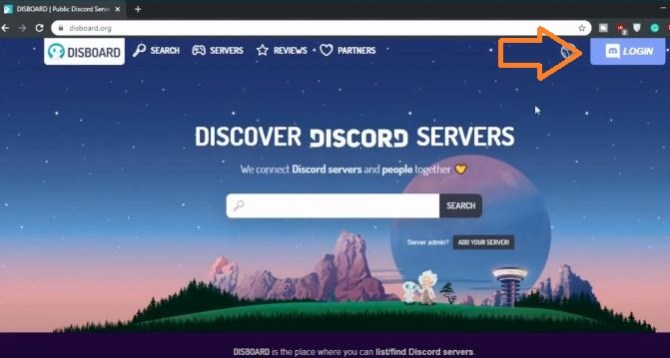 Login Discord From Disboard Bot