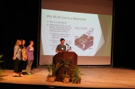Clackamas HS talks about the importance of watersheds