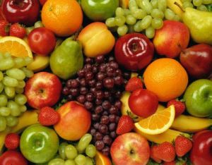 Picture of fresh fruits.