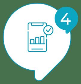 Solvis - Ícone - Como Funciona? - 004 - Você recebe os resultados