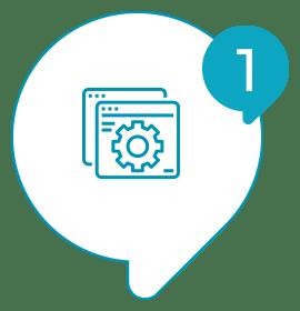 Solvis - Ícone - Como Funciona? - 001 - Escolha quais páginas web cada totem deverá exibir