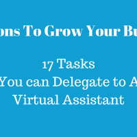 Things A Virtual Assistant Can Handle Or Assist You With