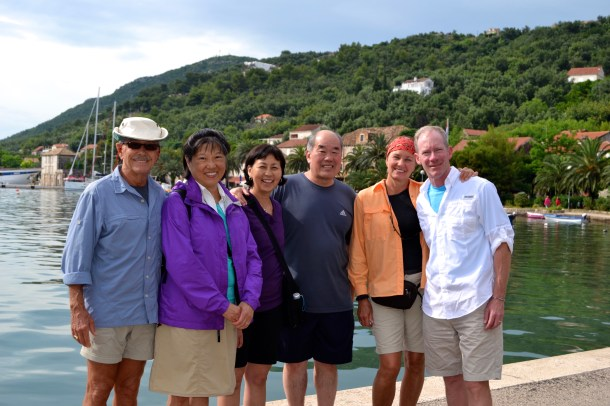 (66) June 16 - The Crew in Sipanska Luka