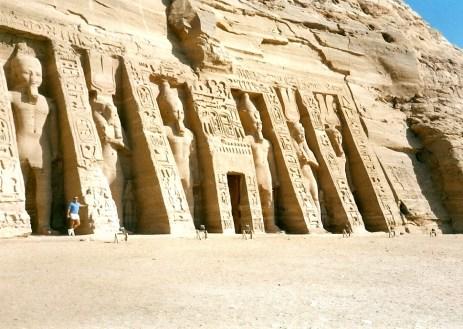 At Abu Simbel