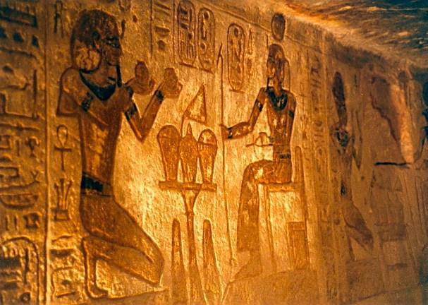 Inside Temple of Ramesses II