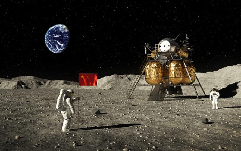 China realiza su primer acoplamiento en la órbita lunar
