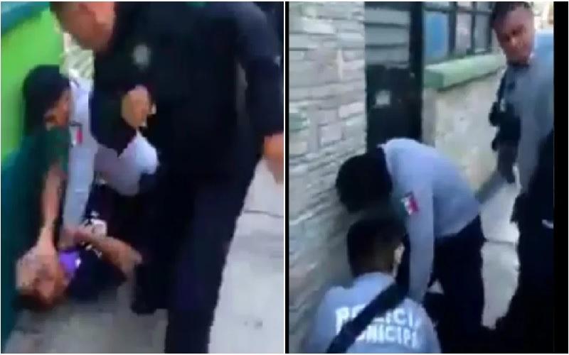 VIDEO: POLICÍAS GOLPEAN A UNA PAREJA EN HIDALGO