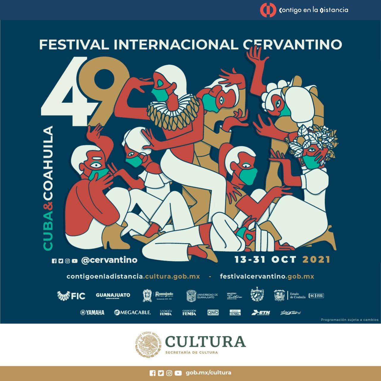 EL FESTIVAL INTERNACIONAL CERVANTINO REGRESA DE FORMA PRESENCIAL EN SU 49 EDICIÓN
