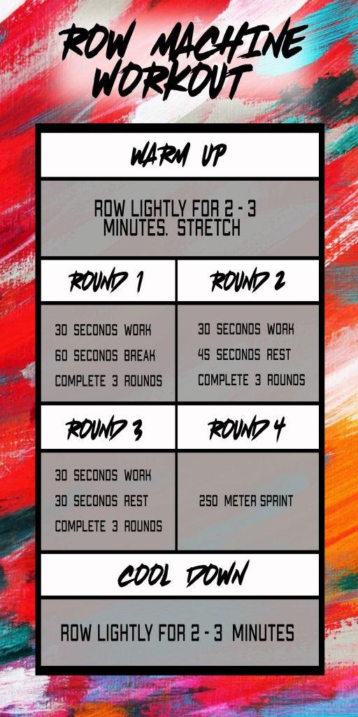 row machine workout