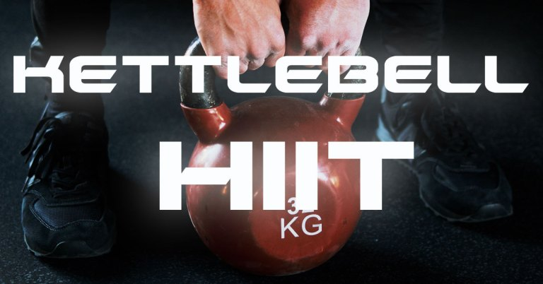 Kettlebell HIIT Workout: All-In-One Training