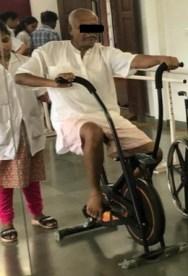 Aerobic Training at K J Somaiya College of Physiotherapy