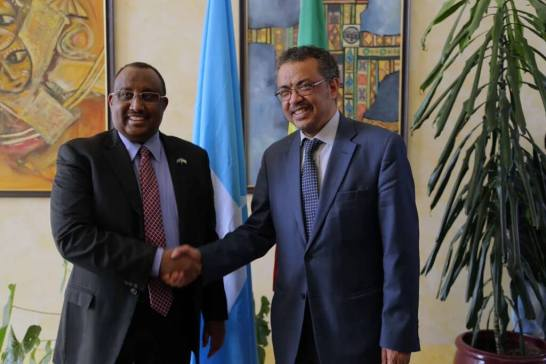 Puntland president and Ethiopia FM