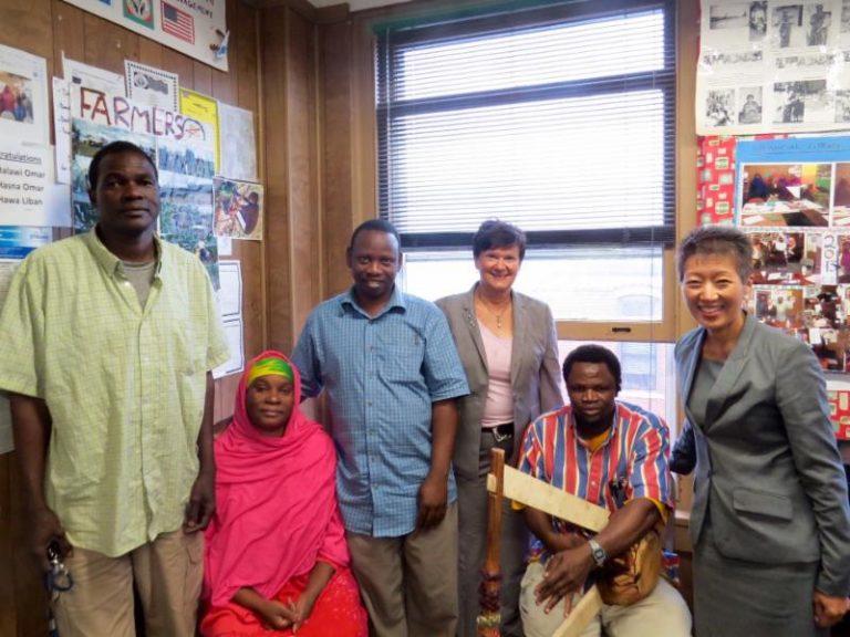 Somali Bantu Community Association staff