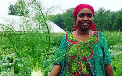 Somali Woman at Liberation Farms