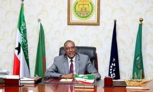 The President of the Republic of Somaliland, Musa Bihi Abdi