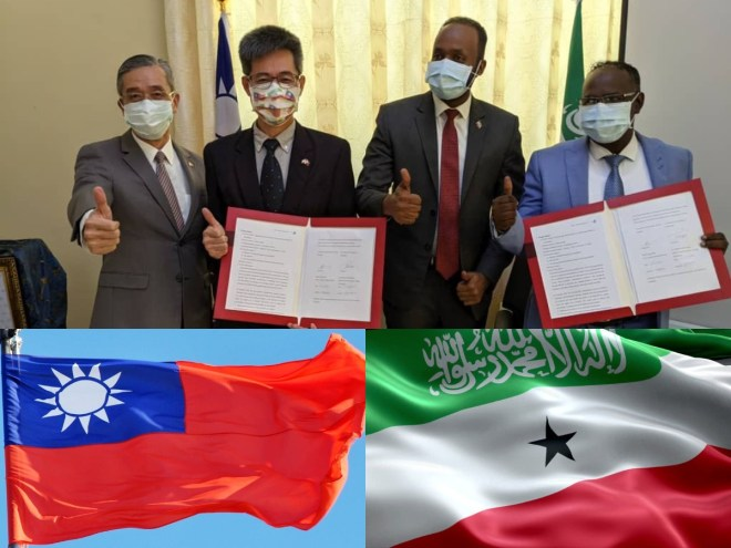Taiwan and Somaliland Sign a Major Healthcare Cooperation Agreement |  Somaliland Chronicle