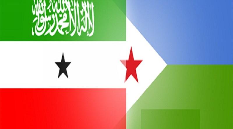 somaliland and djibouti flags