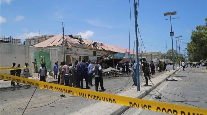 suicide bomb scene