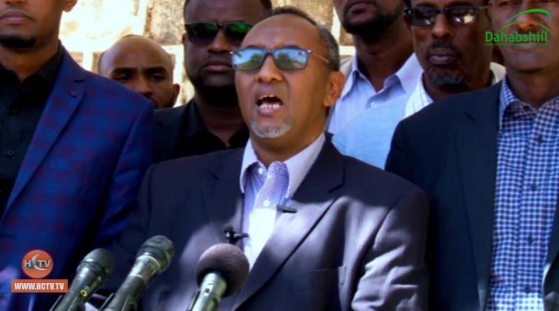 Hirsi Ali Haji Hassan, the 'Leader' of Waddani Party