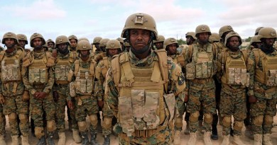 Somali military officers