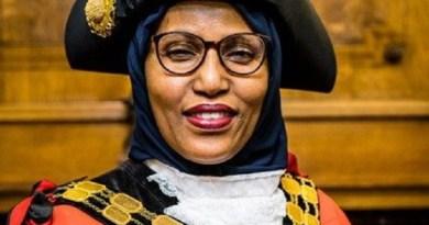 Mayor of Islington, Cllr Rakhia Ismail.