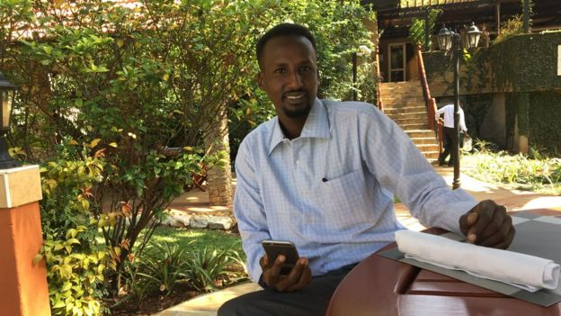 BBC journalist Sidiiq Burmad is based in Hargeisa