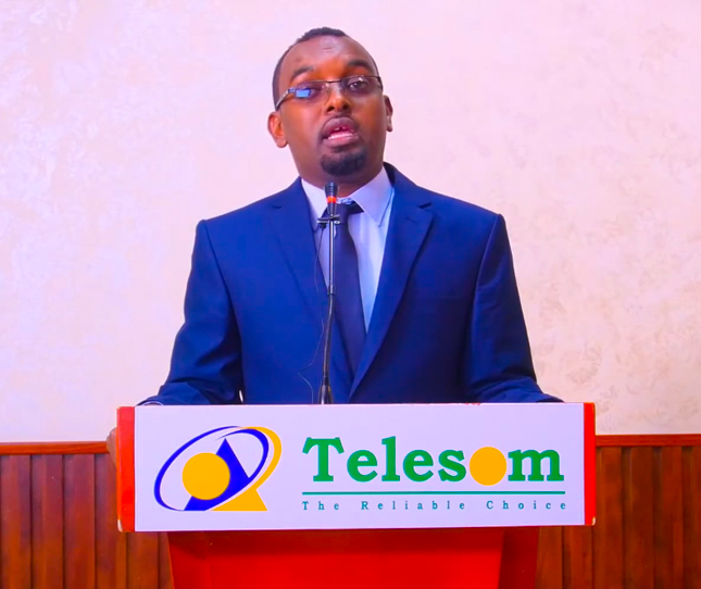 Abdirahman Aar, Marketing manager of Telesom