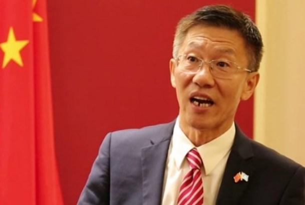 Chinese envoy to Somalia Amb Qin Jian