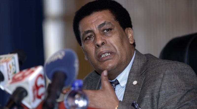 Ethiopian Foreign Ministry spokesperson Dina Mufti