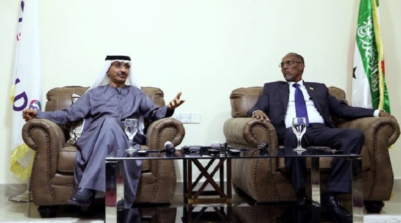 President Muse Bihi Abdi, of Somaliland and Sultan Ahmed bin Sulayem