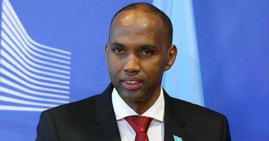 Former Somali Prime Minister Hassan Ali Khayre