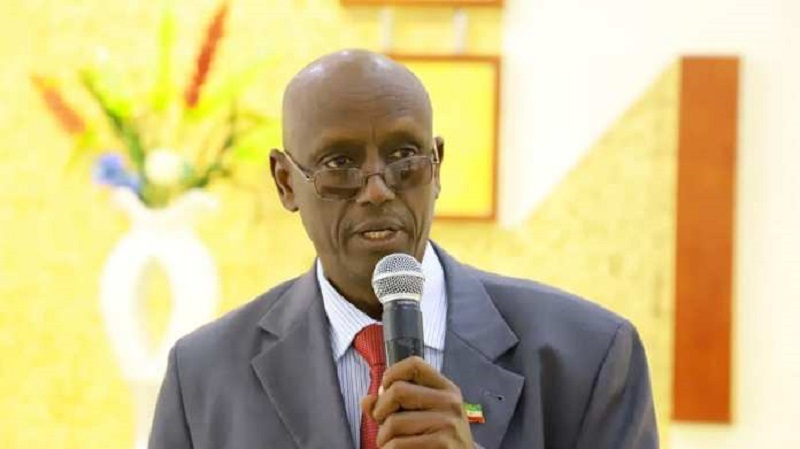 NEC chairman Abdirrashid riyoraac