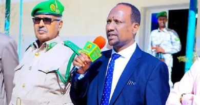 Somaliland's Minister of Justice, Mr. Suleiman Warsame Guled