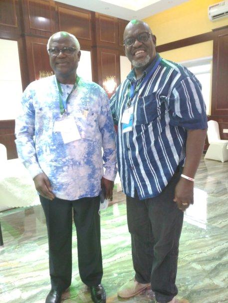 Former Sierra Leone President Ernest Bai Koroma and John Githongo were part of the SomalilandElections2021 international observers mission