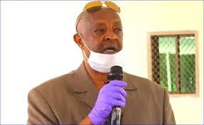 Somaliland interior minister Mohamed Kahin Ahmed