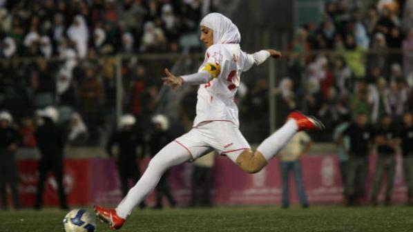 Palestine vs Jordan Women's Friendly Football Match