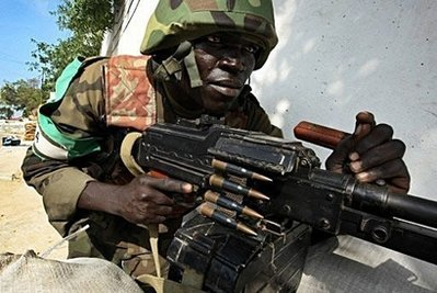 Africa Union peacekeepers