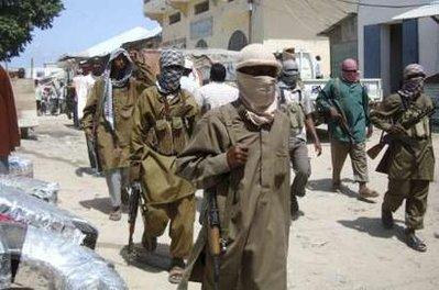 Members of the hardline Al Shabaab