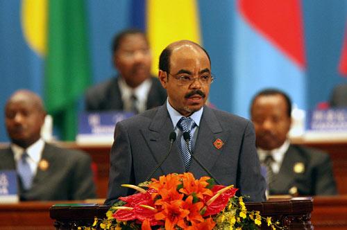Prime Minister Meles Zenawi