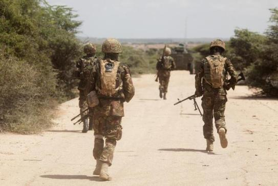 Image result for kenya soldiers in somalia""
