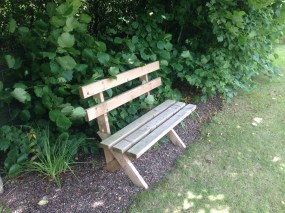 We sat for a while on this bench