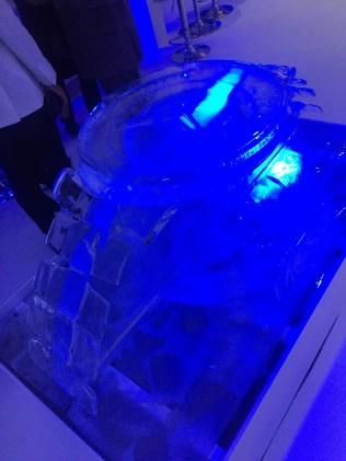 Ice sculpture!