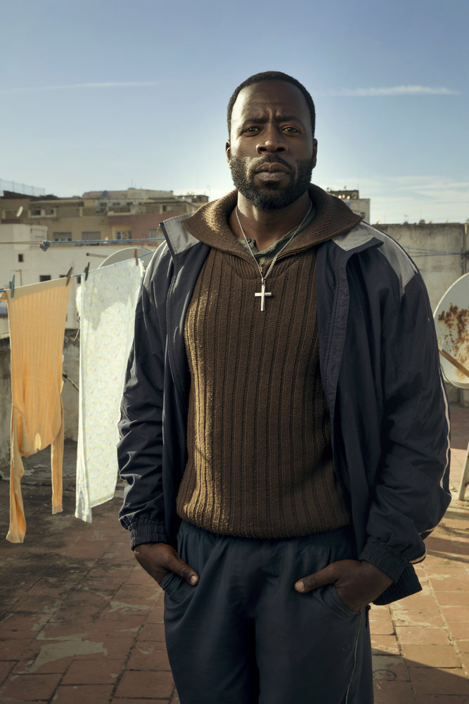 "THE BRAVE -- Season: Pilot -- Pictured: Demetrius Grosse as CPO Ezekiel ""Preach"" Carter -- (Photo by: Jeff Riedel/NBC)"