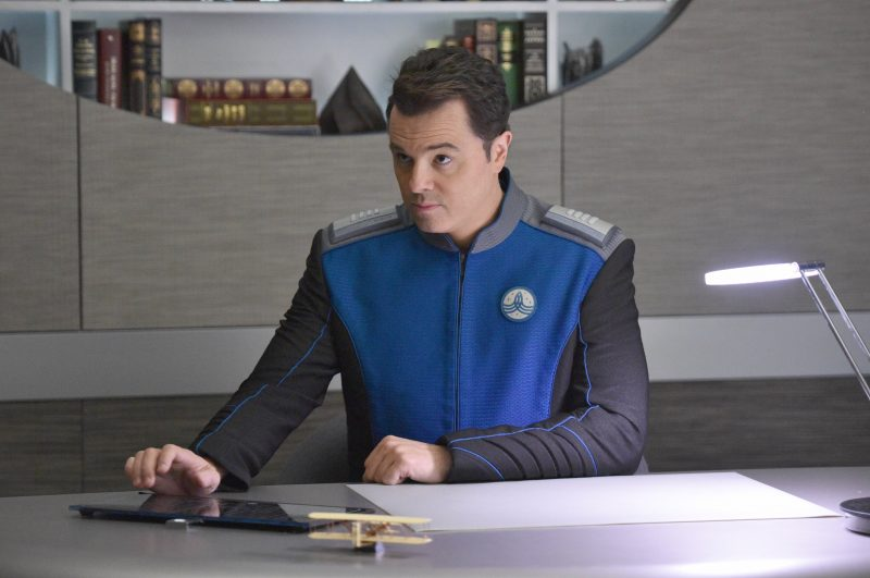 The Orville Captain Ed Mercer