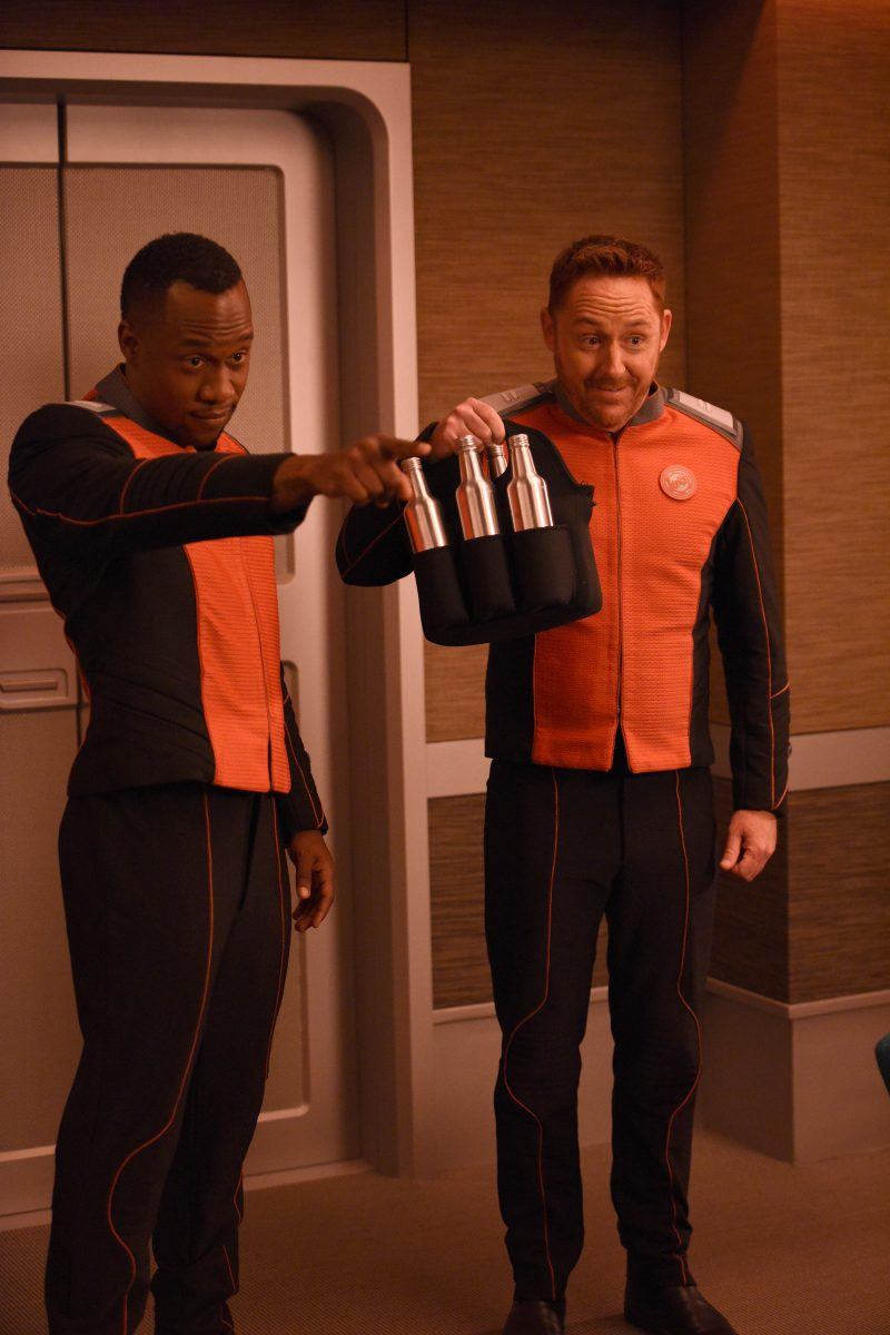 The Orville 103 - About a Girl - Malloy (Scott Grimes) and Lamarr (J. Lee)