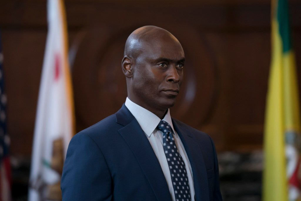 """Bosch: Season 4"" - Lance Reddick in Bosch season four Amazon Prime Video"