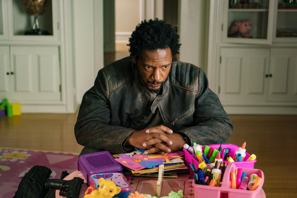"COLONY -- ""Puzzle Man"" Episode 302 -- Pictured: Tory Kittles as Broussard -- (Photo by: Daniel Power/USA Network)"