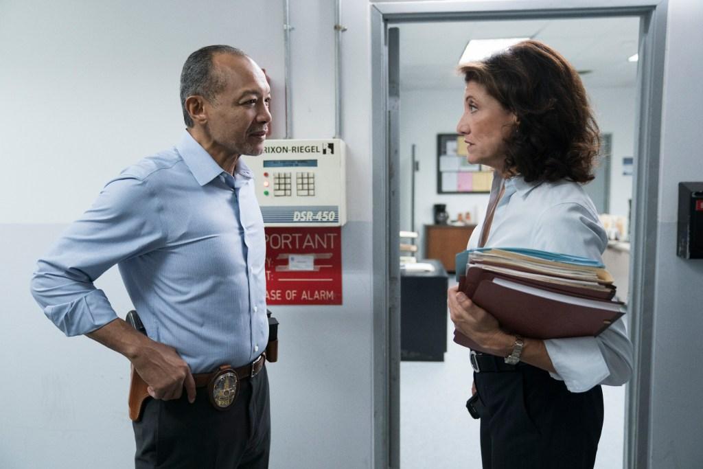 """Bosch: Season 4"" - Amy Aquino and Paul Calderón in Season 4 of Bosch"